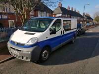 Vauxhall vivaro crew cab
