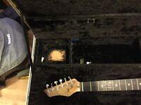 fly Anvil Guitar hard Case size 111cm long 44cm wide 17cm dept