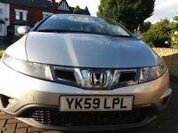Honda Civic Hatchback 2.2 i-CTDi SE Hatchback 5dr