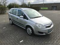 VAUXHALL ZAFIRA 2008 1.6 PETROL DONE 108K MILES 1 YEAR MOT DRIVES THE BEST