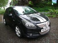 Vauxhall Corsa 1.7CDTI 16V SRI (black) 2009