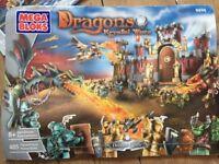 5 Sets of Mega Bloks Dragons Krystal Wars (Lego) Bury St Edmunds
