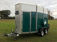 Ifor Williams HB505 Horsebox trailer Green