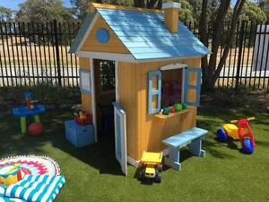 Wooden Ground Level Cubby House Play House Fort Kids Shack Mandurah Mandurah Area Preview