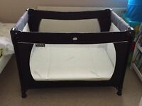 Red Kite Travel Cot with or without mattresses