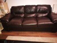 Brown 3 seater Sofa in very good condition
