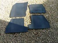 Ford Focus 2011 onwards new rubber mats and boot tray