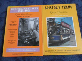 reece winstone bristol local history books bristol trams, mangotsfield past pics