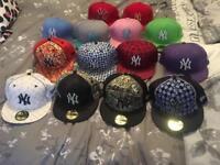 New era NY hats 7 5/8