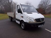2010 10 MERCEDES SPRINTER 313 CDI 2.2 AUTOMATIC IN WHITE NO VAT