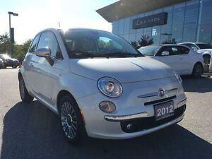 2012 Fiat 500 *ONLY 8600 KMS!!