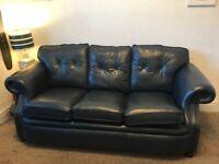 Genuine Leather Bespoke 3 Seater Sofa