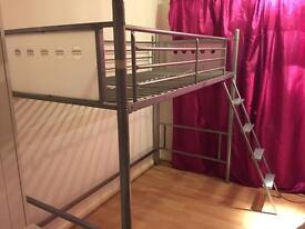High sleeper bed frame