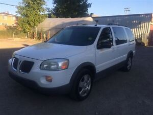2006 Pontiac Montana SV6 ALLONGEE 1725$ TAX TRANSIT INCLUS 514-6