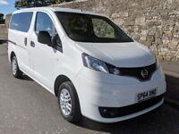 2014 Nissan NV200 7-seat Combi Van 1.5dCi Acenta **REDUCED**No VAT** (under Nissan Warranty)