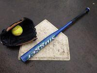 Indoor Softball (rounders/baseball)