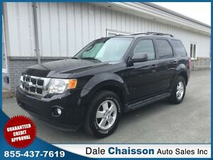 2012 Ford Escape XLT, V6, All Wheel Drive