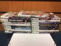 White Xbox 360 4GB With Controller, Leads And 17 Games