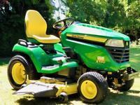 """John Deere X590 Ride On Mower - 54"""" Deck & Mulch kit - Lawnmower - Kubota/Honda/countax/Zero Turn"""