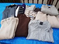collection of jumpers