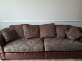 4 seater & 2 seater Leather Sofas, excellent condition