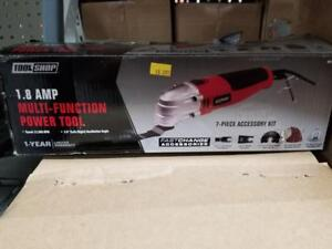 1.8 AMP OSCILLATING MULTI-TOOL with ACCESSORIES