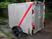 Light Weight Insulated Box Trailer Exc Order Just been overhauled 100% Dry