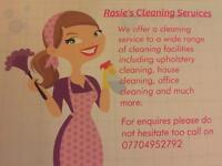 Rosie's cleaning services
