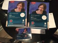 ACCA F8 Audit and Assurance study text, practice &a revision kit, passcards