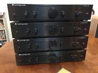 Cambridge Audio A1 Integrated Amplifier x 4