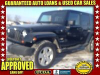 2008 Jeep Wrangler Unlimited Sahara | 4 DOORS | 4X4