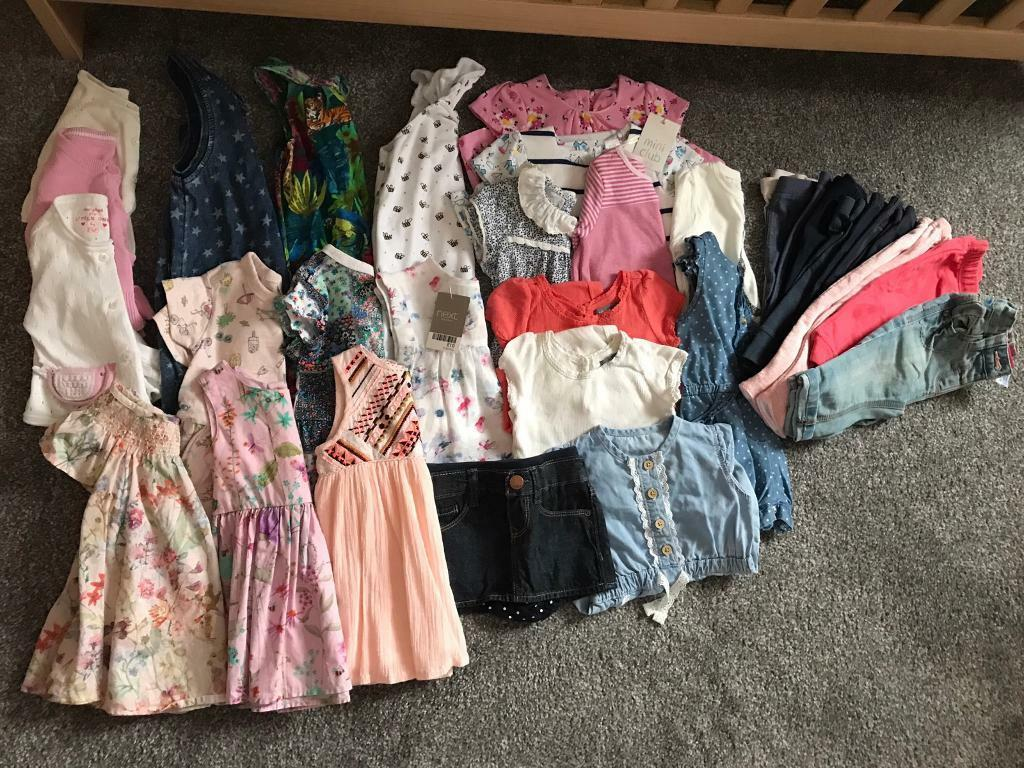 Baby girl clothes 3-6 months. 32 items.