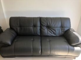 Brand New Genuine Leather 3 + 2 seater sofa HARROW