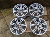 A set of 4 BMW 17 inch alloys style 194