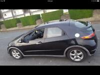HONDA CIVIC 2.2P CDTI/2008/FULL YEAR M.O.T/ FULLY-SERVICES HISTORY/ 2 OWNERS / QUICK SALE