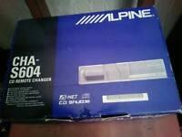 Alpine CD Autochanger