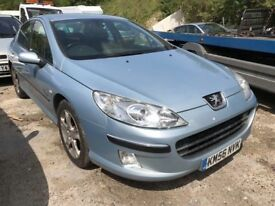 2006 Peugeot 407 diesel, starts and drives well, MOT until 3rd August, 92,000 miles, black leather i