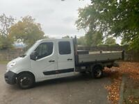 2016/66 Vauxhall Movano 2.3 CDTI Tipper With no Vat