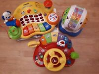 bundle of Vtech babies electronic toys