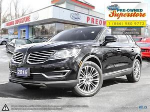 2016 Lincoln MKX Reserve ***AWD, NAV, leather***