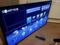 """Samsung 55"""" Series 6 Full HD 1080p Smart 3D LED TV with 400Hz Clear Motion Rate"""