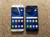 X2 Samsung Galaxy S7 Edge Black/White 32GB