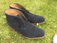 M&S Dark Blue Canvas Shoes