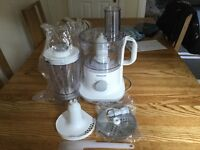 REDUCED FOR QUICK SALE - AS NEW - NEVER USED - KENWOOD FOOD PROCESSOR