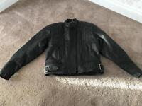 Belstaff Woman's Motorcycle Leather Jacket