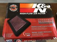 Brand new Suzuki bandit 600 air filter and Ngk spark plugs