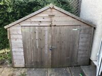 Shed to collect