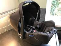 Joie Gemm Infant Baby Car Seat - Birth to 13kg - Immaculate - Carbon Black