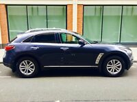 Infiniti QX70 on UK Plates/Tax /MOT 3.5 FX35 LHD left hand drive QX50 qx 70 (not bmw x5 mercedes)