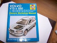 HAYNES MANUAL FOR VOLVO V70 & S80